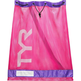 TYR Mesh Equipment Bag pink/purple